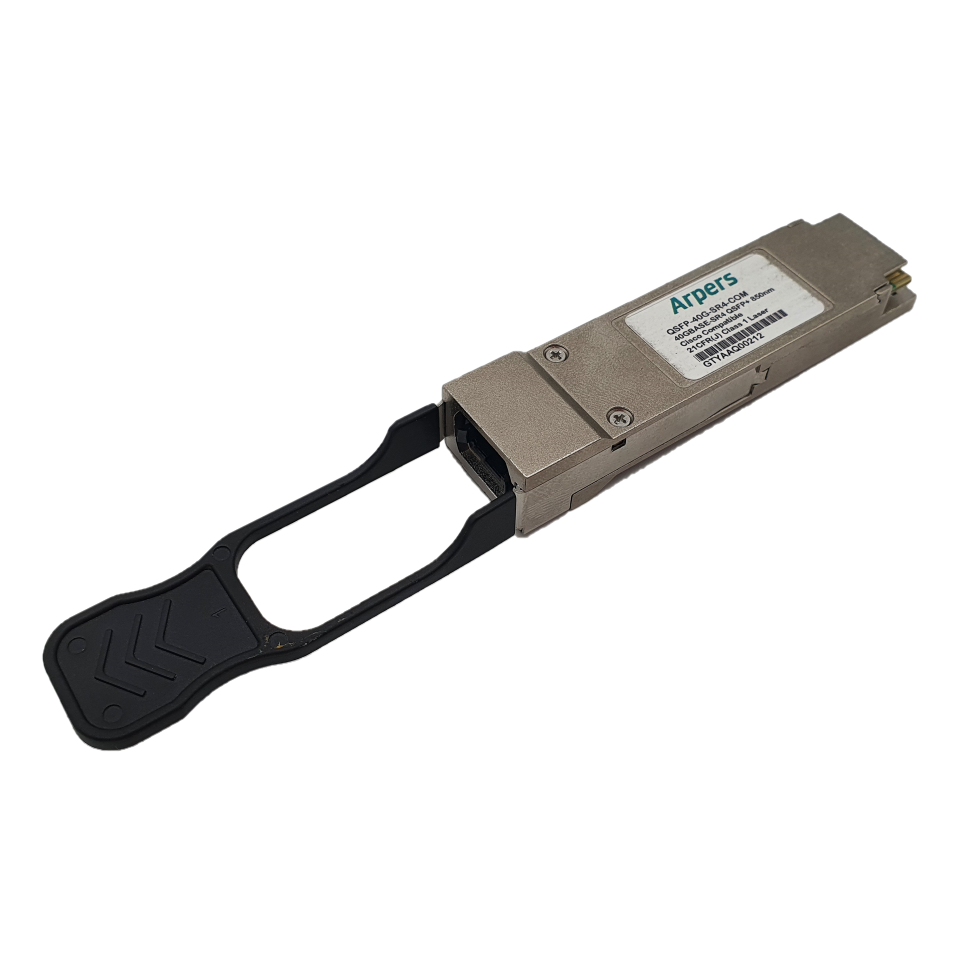 Transceiver compatible QSFP-40G-SR4-COM Arpers 40GBASE-SR4 QSFP+ Module for MMF, 150m reach for Cisco